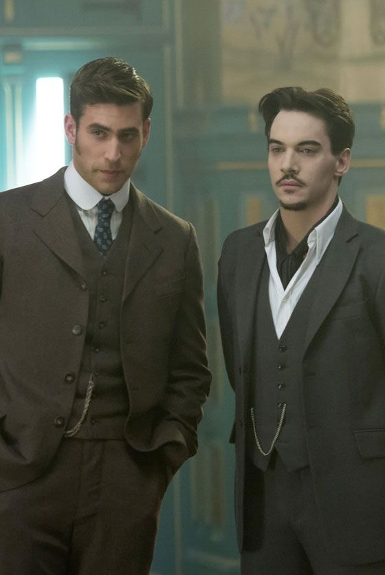 Jonathan Rhys Meyers and Oliver Jackson-Cohen in Episode Four of Dracula TV Series - sky.com/dracula