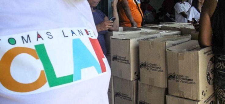 Recordó que el Gobierno nacional vende la caja Clap en 10.000 bolívares, con un 20% de ganancia para reponer los productos y asegurar el éxito del plan gubernamental</p>