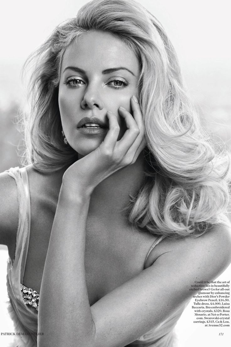 Charlize Theron by Patrick Demarchelier for Vogue UK May 2012