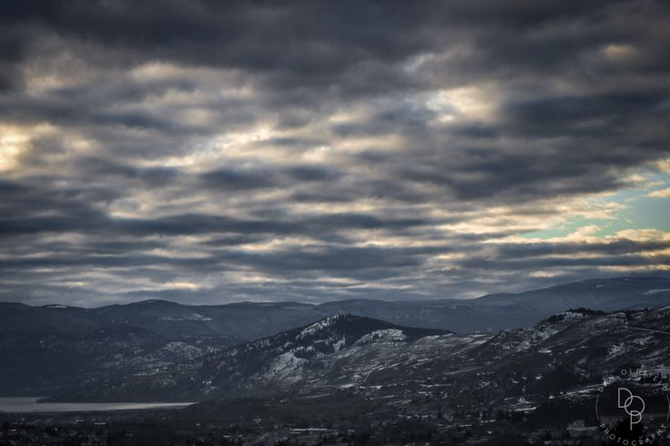 Moody clouds over Vernon BC - Dan Oldfield Photography