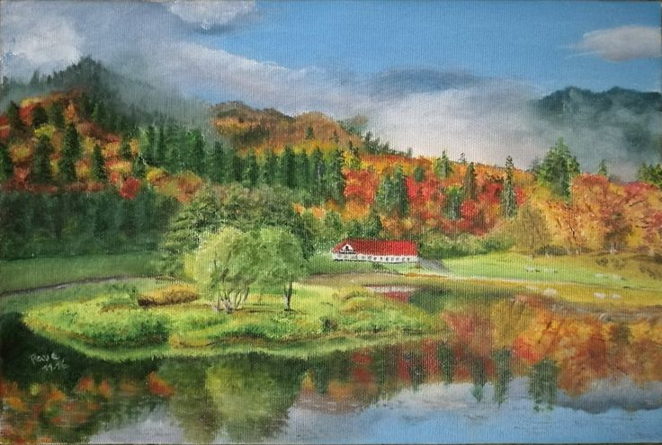 Autumn painting by NotOKFun on DeviantArt