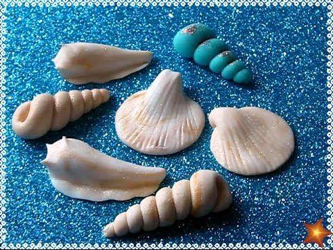 Como hacer caracoles de fondant (pasta laminada) fáciles y sin molde