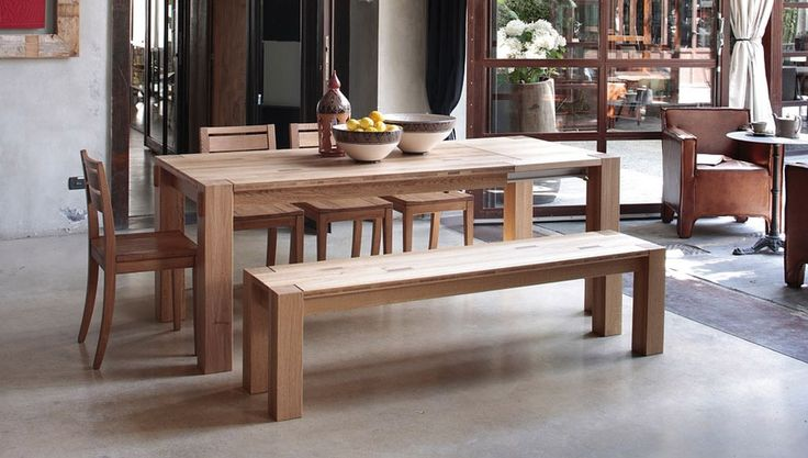 dining table on pinterest wood tables wooden dining bench and