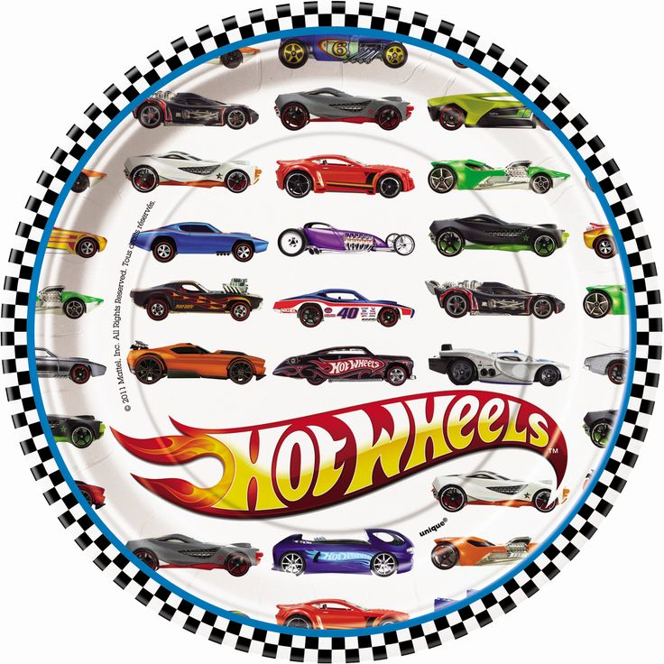 Hot Wheels birthday party supplies