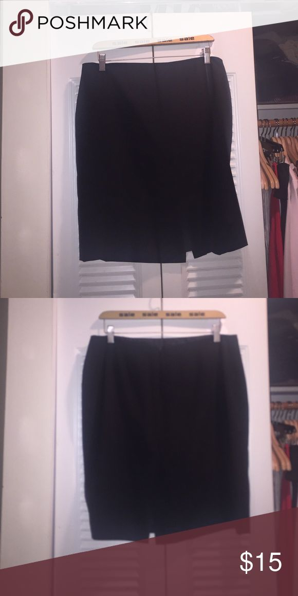 Staple Black Skirt Simple black skirt for work or business casual event Anne Klein Skirts Pencil