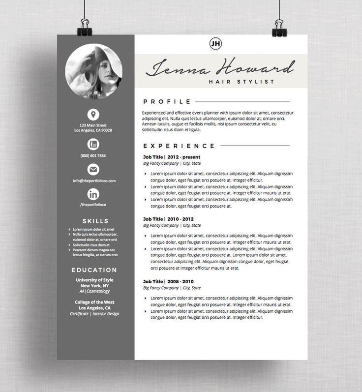 Resume Cv Template And Cover Letter Creative Resume Etsy Kreativer Lebenslauf Vorlagen Lebenslauf Lebenslauf