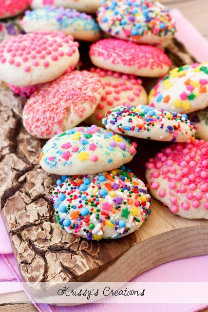 Soft Sprinkle Sugar Cookies