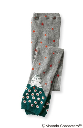 Moomin Apple Pattern Leggings | FELISSIMO