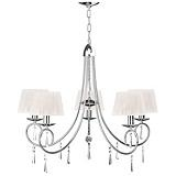 Debbie Travis 5 Light Shimmer Chandelier