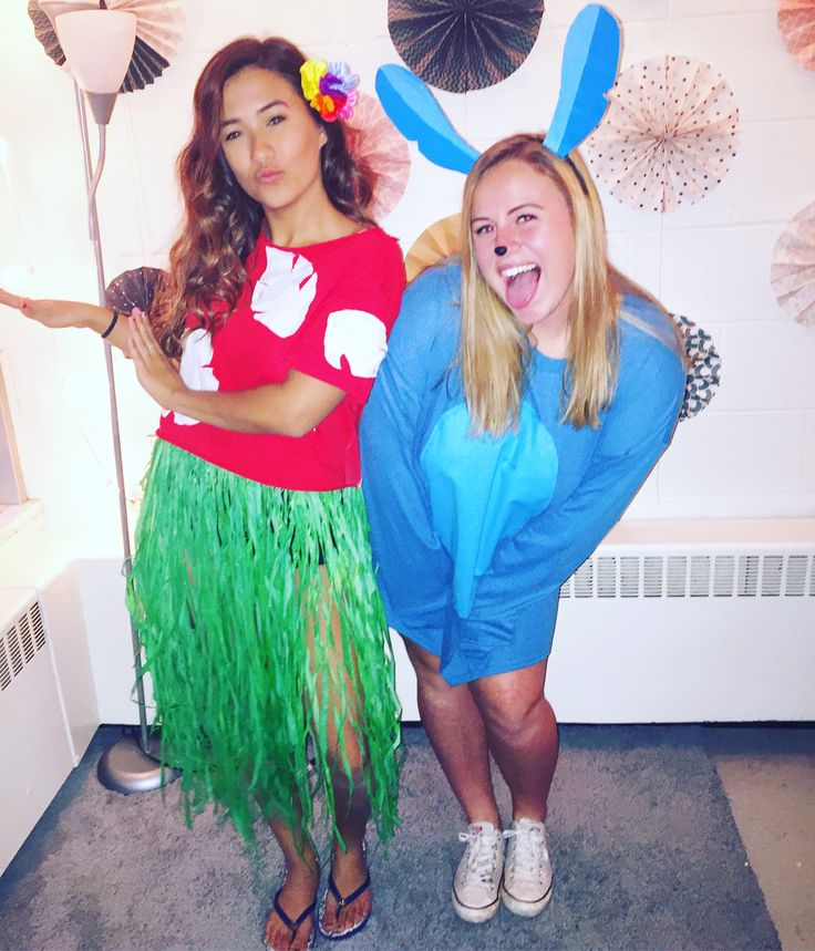 Lilo and Stitch halloween costume DIY