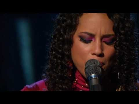 Alicia Keys- Unplugged - Singing the Rolling Stones' Wild Horses