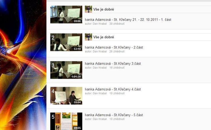 video staré křečany Iva Adamcová 2011