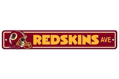 WASHINGTON REDSKINS STREET SIGN
