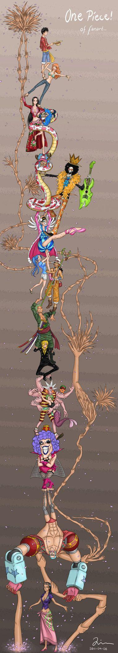 One Piece | Minimalist | Roronoa Zoro | Nami | Vinsmoke Sanji | Usopp | Monkey D Luffy | Tony Tony Chopper | Nico Robin | Franky | Brook | Boa Hancock | Ivankov | Mugiwaras | Straw Hat Crew | Equipage du Chapeau de Paille