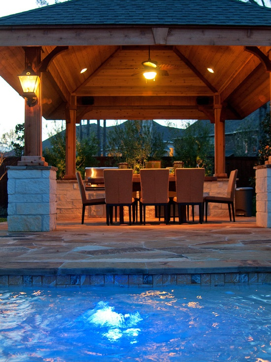 traditional patio covered patio design pictures remodel decor and ideas page 2 - Outdoor Covered Patio Lighting Ideas