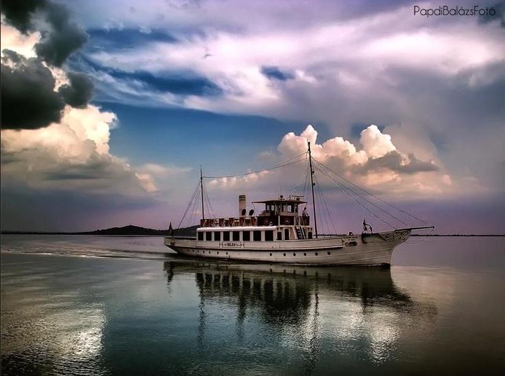 op het Balatonmeer  foto : Papdi Balazs