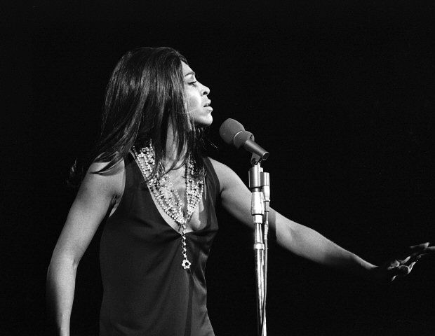 Tina Turner on Tour. 1969. Joe Sia image.