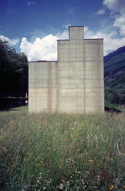 La Congiunta, Peter Märkli. Giornico, Switzerland, 1992.