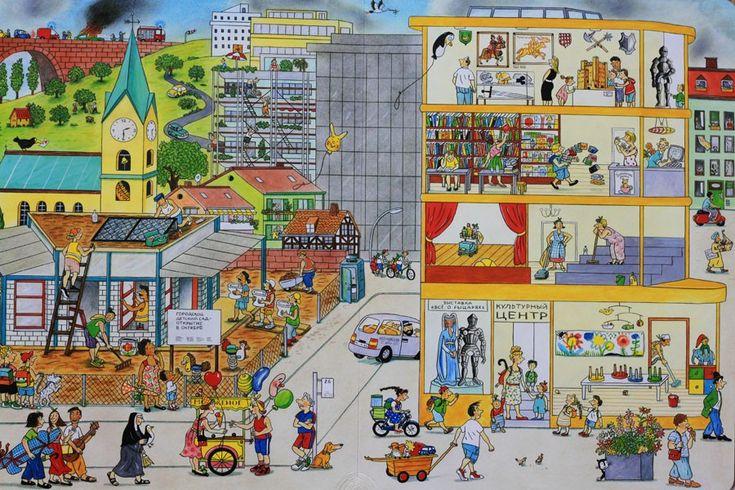 city building writing prompt people intersection ciudad edificio ciudadanos bocacaloe