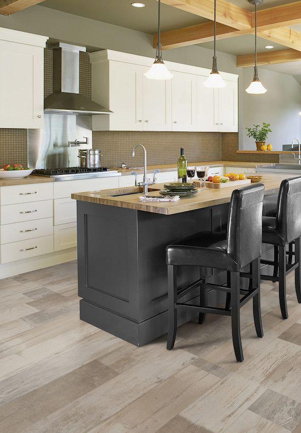 Choose Right Flooring For Kitchen: Vinyl Flooring