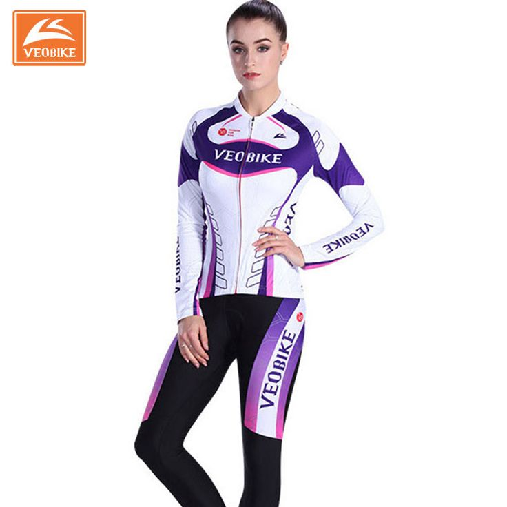 ==> [Free Shipping] Buy Best VEOBIKE Women 2017 Pro Team Racing Bike Clothing Set MTB Lady Cycling Jerseys Long Bicycle Clothing Womens Cycle Sports Wear Online with LOWEST Price | 32743289274