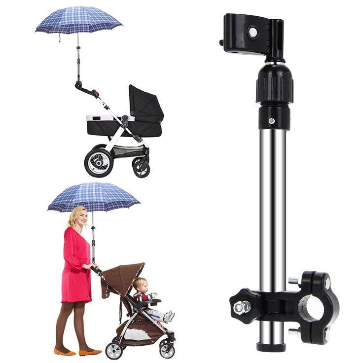 Useful Mount Stand Stroller Accessories High Quality Baby Stroller Umbrella Holder Strollers baby cart Parasol shelf