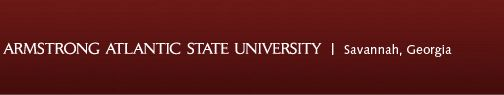 Armstrong Atlantic State University Savannah Georgia Scholarship Bulletin