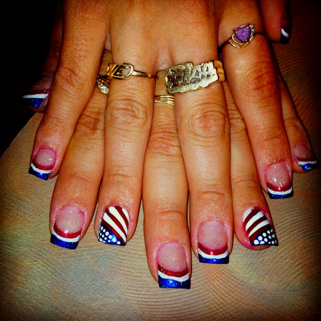 fourth of july nail designs 2015