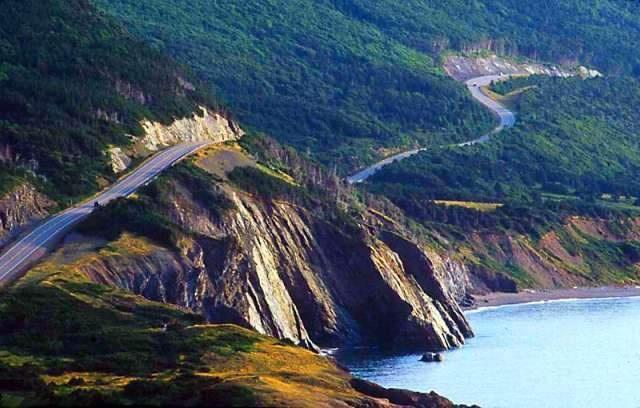 Cabot Trail, Cape Breton, Nova Scotia, Canada