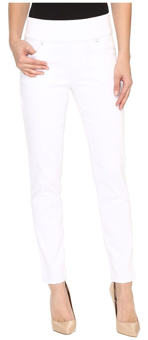 FDJ French Dressing Jeans Pull-On Slim Ankle in White (White) Women's Jeans - FDJ French Dressing Jeans, Pull-On Slim Ankle in White, 229806N, Apparel Bottom Jeans, Jeans, Bottom, Apparel, Clothes Clothing, Gift, - Fashion Ideas To Inspire