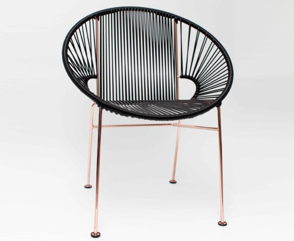 Acapulco Dining Chair Copper Frame