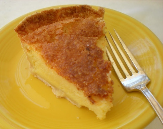 Buttermilk Chess Pie.  One of my comfort foods.  Mom used to make this all the time.