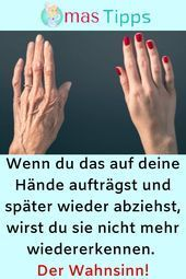 profitiert von Wonder Cells  Wenn du das auf deine Hände aufträgst und später... - Skin beauty is one of the most sensitive areas for women. Weather conditions, misused cosmetic products or genetics may cause deterioration of the skin structure. In particular, using the wrong cosmetic products can cause signs of premature aging. In order to prevent the signs of premature aging and to protect the health of the skin, it is necessary to take care of the skin care. Here are 9 tips for flawless skin