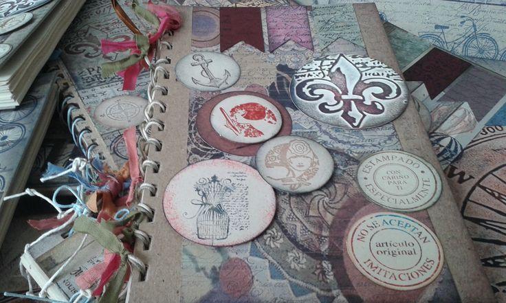 Libretas hechas a mano personalizadas para regalos con arte y significado. Diseños Marta Correa Blog: 321 643 63 84 Cel: 321 643 63 84