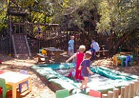 Children's Play area at Stonehaven located on the Vaal River 45mins from Joburg offering themed Kiddies Parties
