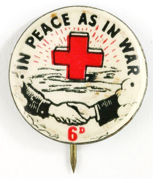 Red Cross - In Peace As In War