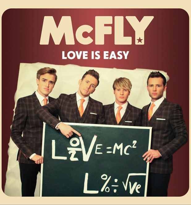 McFly 'Love Is Easy' artwork.