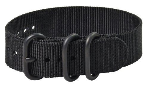 Premium 24mm 3-ring PVD Solid Black Zulu Military Nylon Nato Watch Strap G-10 Fits All Watches!!! Clockwork Synergy, LLC. $14.95. PVD Buckles. BLACK 24MM 3-RING PVD ZULU Military Style Watch Band. Zulu Nato Material