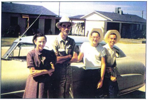 buddy holly's parents | Buddy Holly, second from right, is pictured in his Lubbock boyhood ...