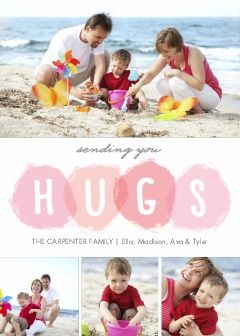 Valentine Special Hugs Photo Cards