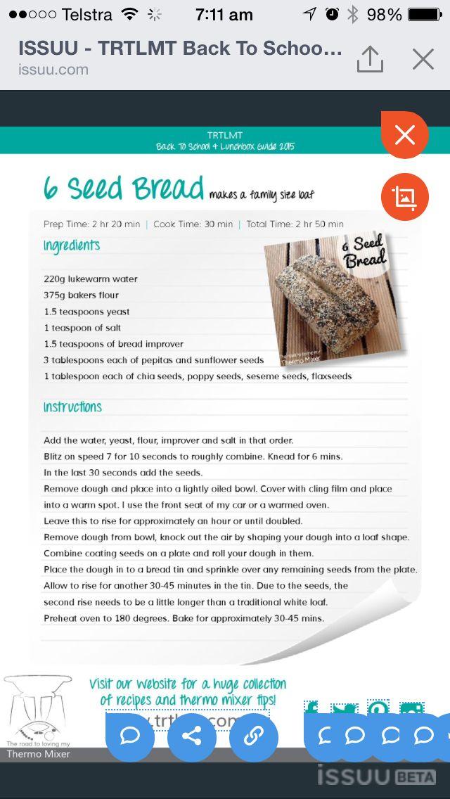 6 seed bread