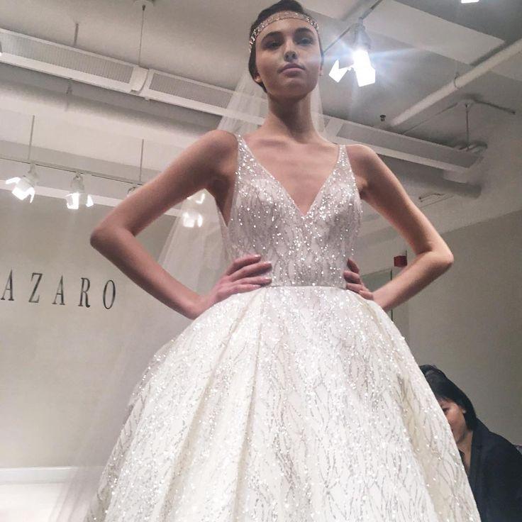 New York Bridal Fashion Week Show Fall 2016 Collection Wedding Dress Designer Gown Catwalk