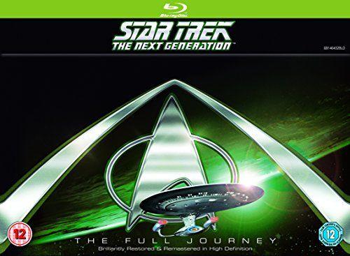 Star Trek: The Next Generation: Complete [Edizione: Regno Unito] [Blu-ray] [Import anglais]