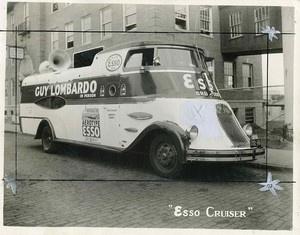 RR229 RP 1935 GUY LOMBARDO ESSO GAS AEROTYPE BUS 1934 NY PLATE | eBay
