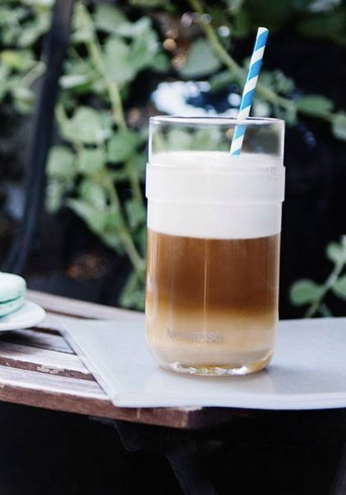 Enjoy your iced coffee treat on your patio by serving it up in a VertuoLine Recipe Set glass from Nespresso. The sleek and clear design is sure to enhance the rich espresso notes.