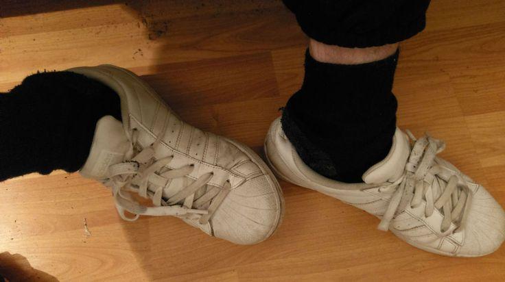 Adidas Superstar Sneaker Schuhe Gr. 39 1/3 Weiß . gay  Sk8ter Skater