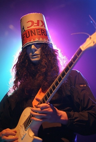 The career of musical virtuoso buckethead