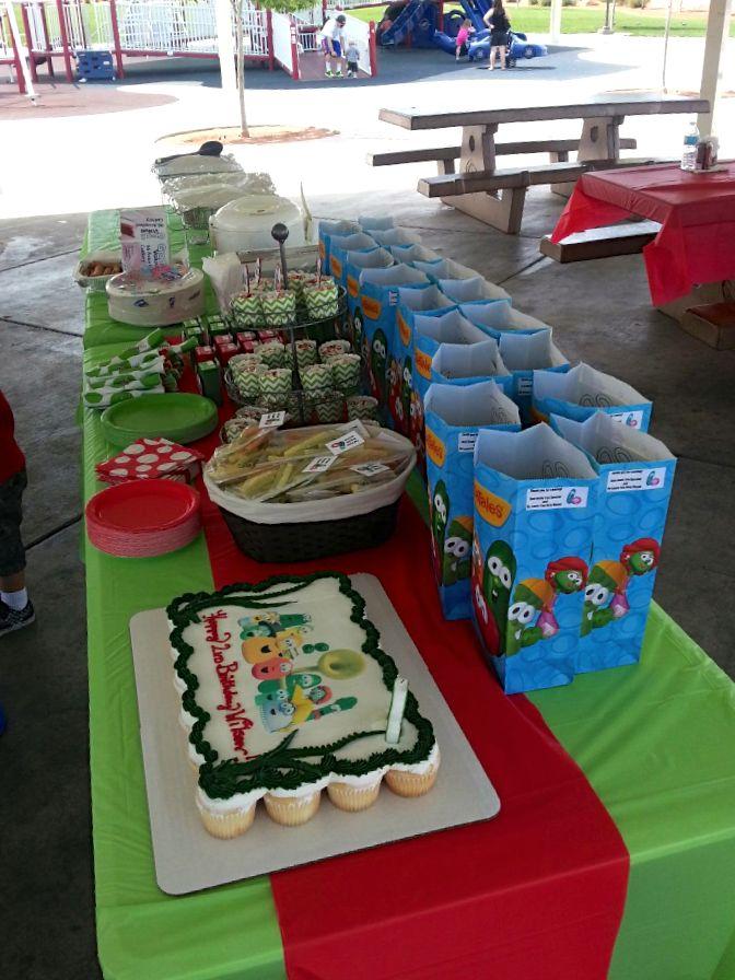 Wilson's VeggieTales Party   CatchMyParty.com
