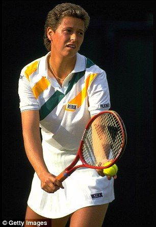 Former British tennis player Jo Durie