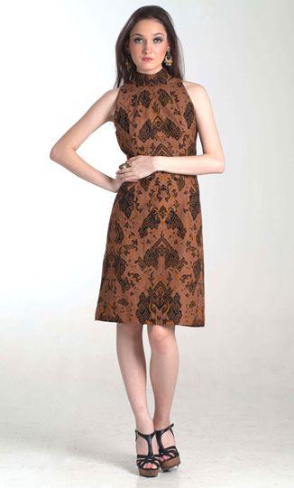 Dress Batik Modern Edisi Terbaru